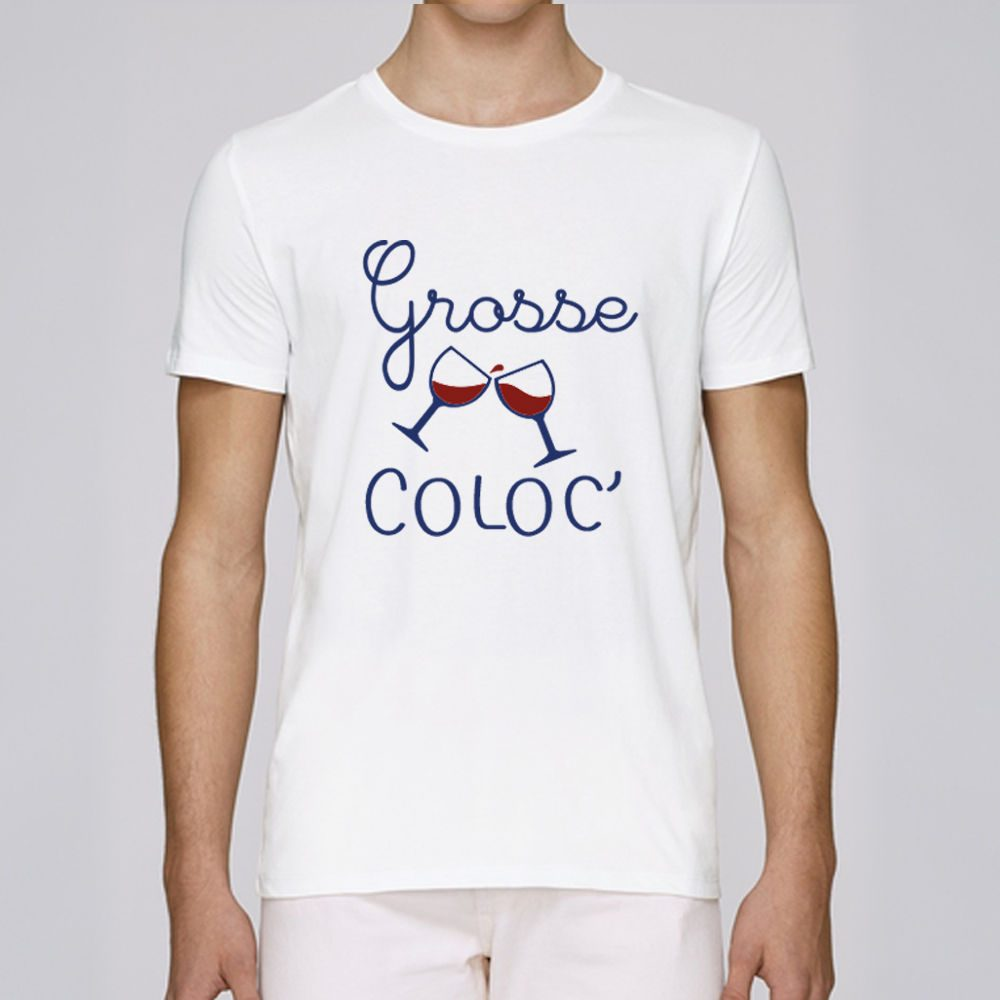 Tee-shirt Grosse Coloc homme