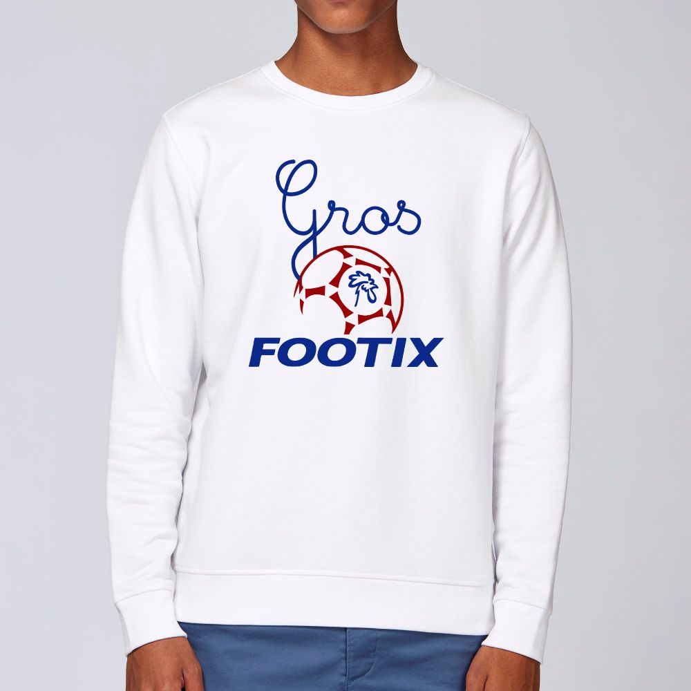 sweat gros footix mixte
