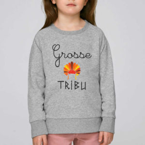 sweat grosse tribu enfant
